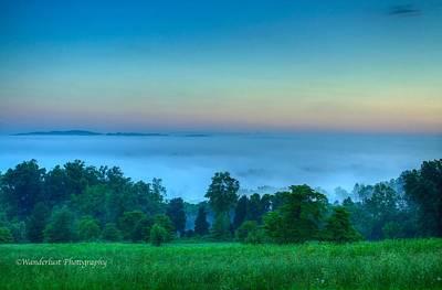 Shaconage Land Of The Blue Smoke Art Print by Paul Herrmann
