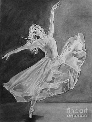 Shadow Dancer Art Print