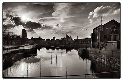 Photograph - Shadwell Basin by Lenny Carter