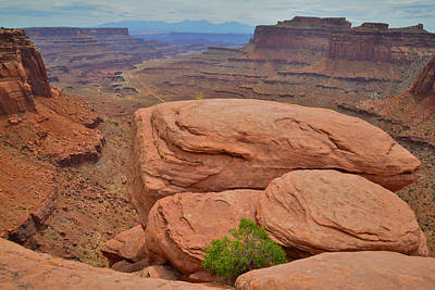 Photograph - Shafer Trail by Ray Mathis