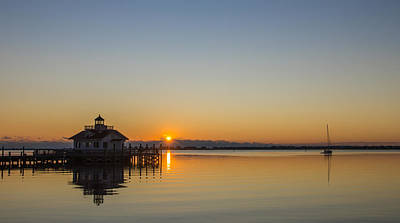 Art Print featuring the photograph Shallowbag Bay Sunrise by Gregg Southard