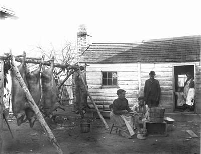 Sharecropper Family, 1900 Art Print