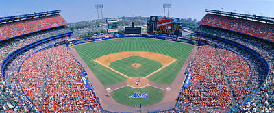 Pitching Photograph - Shea Stadium, Ny Mets V. Sf Giants, New by Panoramic Images