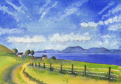 Painting - Sheeps Head Way by Kate Shannon
