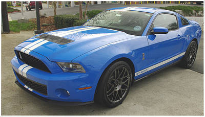 Photograph - Shelby Cobra Gt 500 by James C Thomas