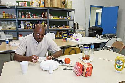 Baton Rouge Photograph - Shelter For Hurricane Katrina Survivors by Jim West