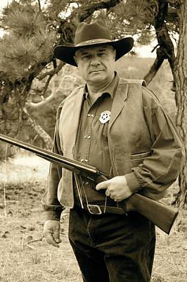Photograph - Sheriff Matt by Sherlyn Morefield Gregg