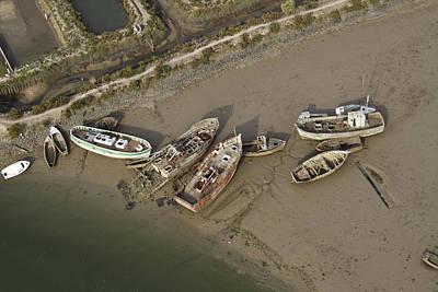 Noirmoutier Photograph - Ship Graveyard, Noirmoutier by Laurent Salomon