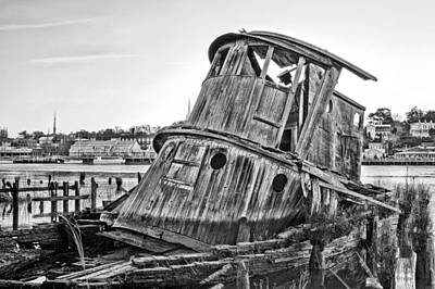 Photograph - Shipwrecked  by JC Findley