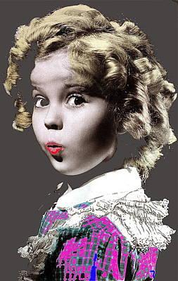 Shirley Temple Publicity Photo Circa 1935-2014 Art Print by David Lee Guss