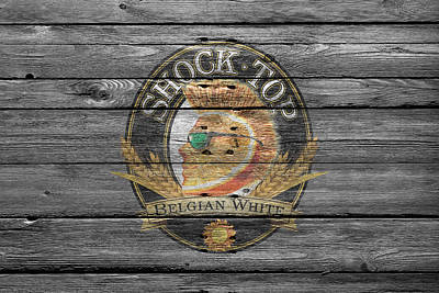 Handcrafted Photograph - Shock Top by Joe Hamilton