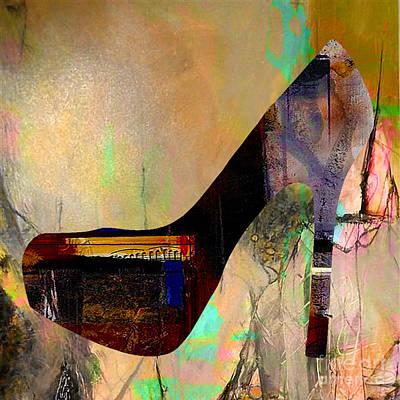 Shoe Mixed Media - Shoe Art by Marvin Blaine