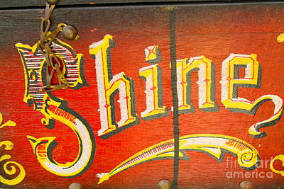 Photograph - Shoe Shine Kit by Pamela Walrath