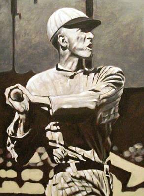 Shoeless Joe Jackson Painting - Shoeless by Paul Smutylo