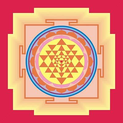 Sriyantra Digital Art - Shri Yantra by Ashutosh Goyal