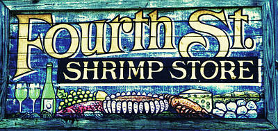 Photograph - Shrimp Store by Laurie Perry