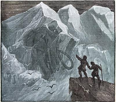 Siberian Frozen Mammoth Art Print by Paul D Stewart