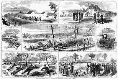 Siege Of Yorktown, 1862 Art Print by Granger