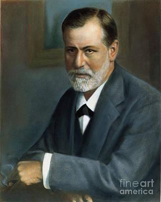 Sigmund Photograph - Sigmund Freud (1856-1939) by Granger