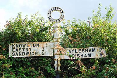 Signpost Print by Chevy Fleet