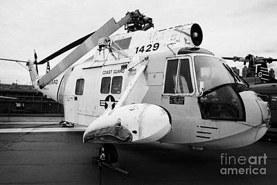 Sikorsky Hh 52 Hh52 Sea Guardian Helicopter On Display Art Print