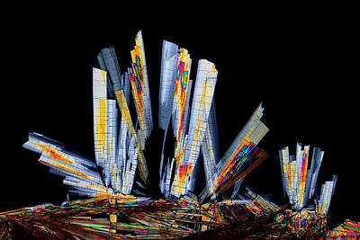 Crystalline Photograph - Sildenafil Citrate Drug by Antonio Romero