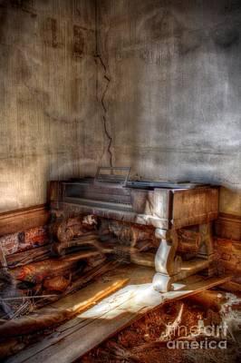 Burnt Digital Art - Silenced Song by Dan Stone