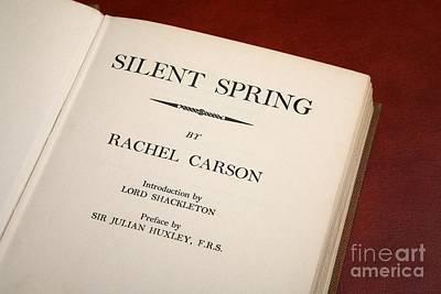Rachel Carson Photograph - Silent Spring by Victor De Schwanberg