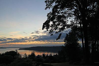 Photograph - Silhouettes At Dawn by E Faithe Lester