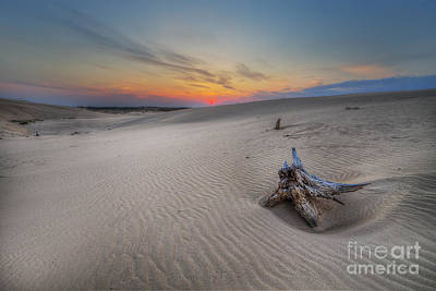 Silver Lake Sand Dunes Print by Twenty Two North Photography