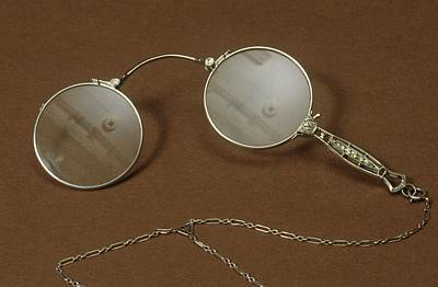 1860s Photograph - Silver Lorgnette by Science Photo Library