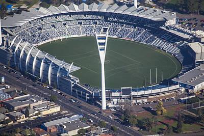 Simmonds Stadium Home Of The Geelong Art Print