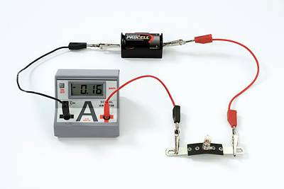 Simple Circuit To Measure Amps Print by Trevor Clifford Photography