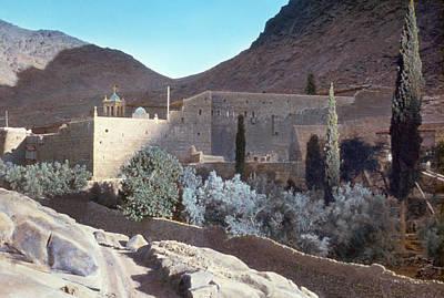 Sinai Monastery Art Print