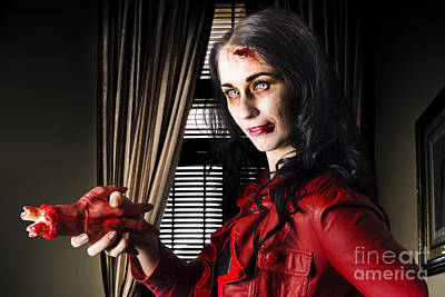 Photograph - Sinister Business Woman Killing The Competition by Jorgo Photography - Wall Art Gallery