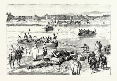 Charles River Drawing - Sir Charles Euan Smiths Mission To The Court Of Morocco by Moroccan School