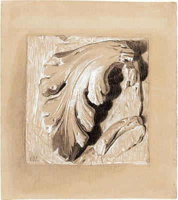 1833 Drawing - Sir Edward Coley Burne-jones, British 1833-1898 by Litz Collection