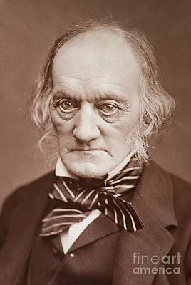 Darwin Fossils Photograph - Sir Richard Owen, British Biologist by Paul D. Stewart