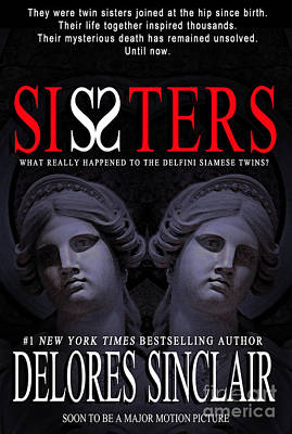 Pocketbook Cover Design Photograph - Sisters by Mike Nellums