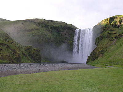Photograph - Skogafoss by Christian Zesewitz