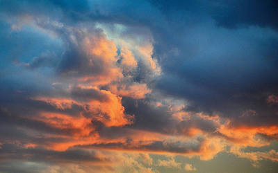 Photograph - Sky Drama by AJ  Schibig