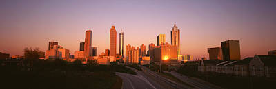 Skyscrapers In A City, Atlanta Print by Panoramic Images