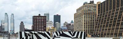 Skyscrapers In A City, Lower West Side Art Print
