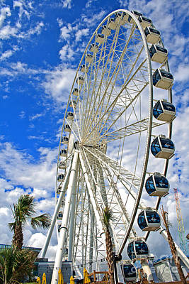 Photograph - Skywheel Xxiii by Gene Berkenbile