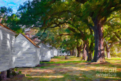 Photograph - Slave Quarters by Dale Powell