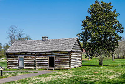Photograph - Slave Quarters by Robert Hebert