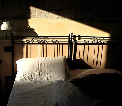 Unmade Bed Photograph - Sleeping Alone by Annie  DeMilo