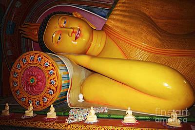 Sleeping Buddha Photograph - Sleeping Buddha by Paul Cowan