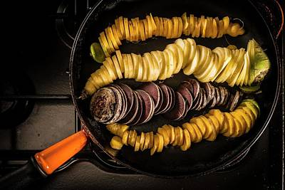 Large Group Of Objects Photograph - Slices Of Carrots by Aberration Films Ltd