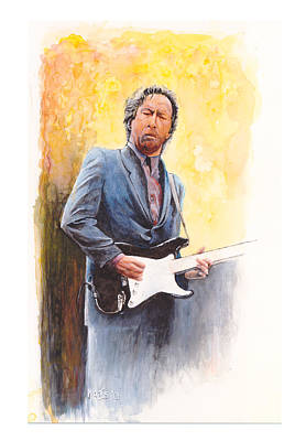 Slowhand Painting - Slow Hand by William Walts